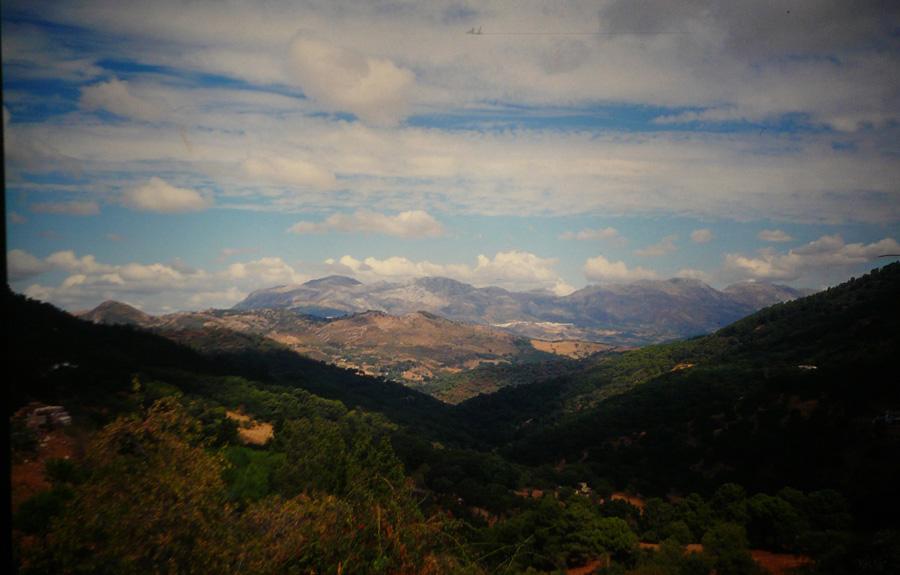 Zwischen Ronda und Gibraltar.