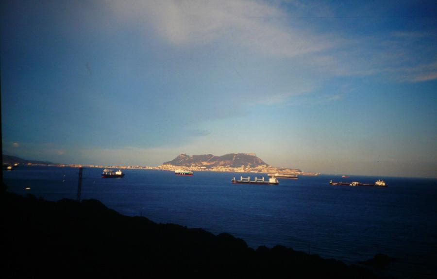 Fels von Gibraltar.