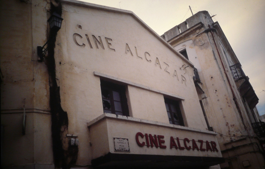 Cine Alcazar in Tanger.